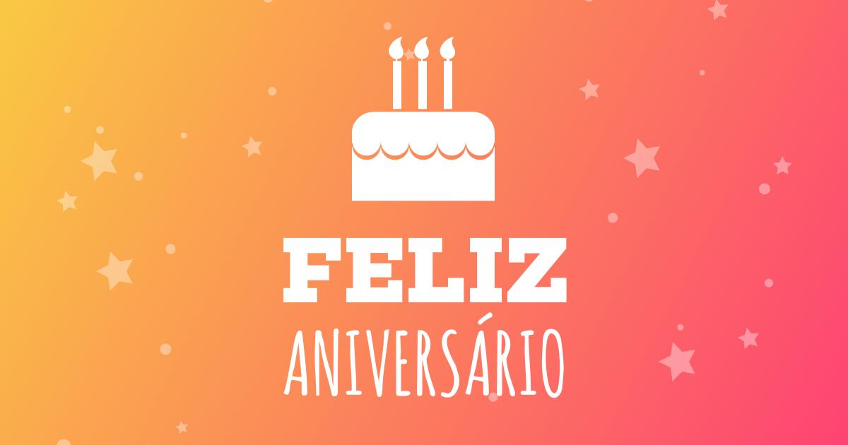 Mensagem de aniversário especial - Feliz Aniversário